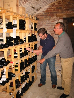 Casiers bouteille casier vin rangement du vin am nagement cave casier bois for Amenager sa cave a vin