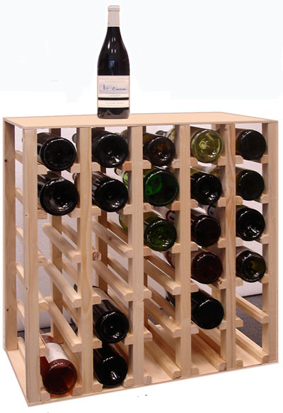 photo rack a bouteille de vin